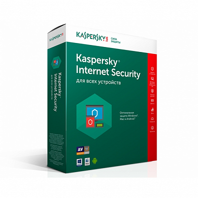 Kaspersky Internet Security для 3 устройств